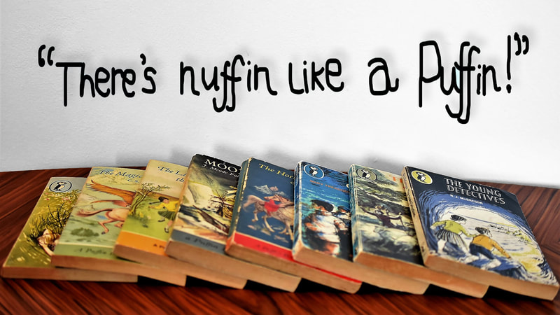 Puffins, Puffin young Readers, Penguin books, nuffin like a puffin